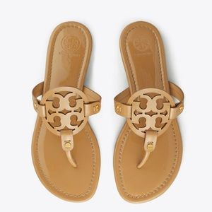 Tory Burch Patent Leather Sand Miller Sandal